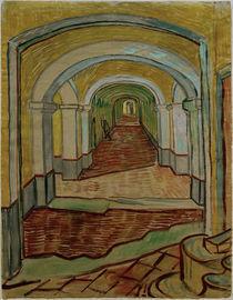 V.van Gogh, Korridor der Heilanstalt von AKG  Images