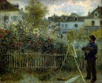 Claude Monet beim Malen/ Gem.v.Renoir by AKG  Images