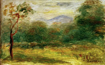 A.Renoir, Landschaft in Suedfrankreich by AKG  Images