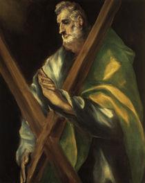 El Greco, Hl.Andreas by AKG  Images