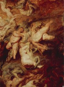 P.P. Rubens, Hoellensturz der Verdammten von AKG  Images