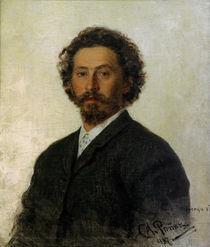 Ilja Repin, Selbstbildnis 1887 by AKG  Images