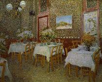 V.van Gogh, Inneres eines Restaurants von AKG  Images