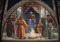 Ghirlandaio, Franziskus vor dem Sultan von AKG  Images