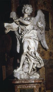 G.L.Bernini, Engel mit Kreuzesinschrift von AKG  Images