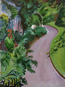 August Macke, Gartenweg by AKG  Images