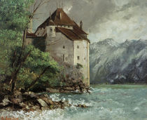 G.Courbet, Chateau de Chillon von AKG  Images