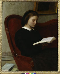 H.Fantin-Latour, La liseuse - The Reader / Fantin by AKG  Images