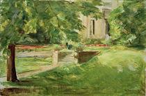 M.Liebermann, Haus und Terrasse von AKG  Images