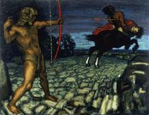 F.von Stuck, Herkules und Nessos by AKG  Images