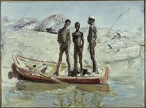 Slevogt, Sudanesen im Kahn/ 1914 by AKG  Images