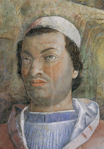 Kardinal Francesco Gonzaga / Mantegna by AKG  Images