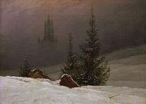 C.D.Friedrich, Winterlandschaft by AKG  Images