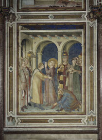 Simone Martini, Investitur Hl.Martin by AKG  Images