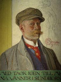 Carl Larsson, Selbstbildnis von AKG  Images