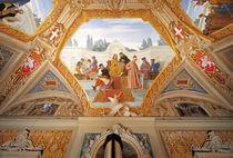 Perugino, Raffael u.a. / Fresko Bruschi von AKG  Images