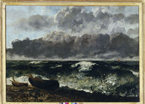 G.Courbet, Stuermische See by AKG  Images