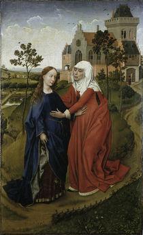 Rogier van der Weyden, Heimsuchung by AKG  Images