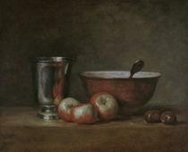 J.B.S.Chardin, Der Silberbecher von AKG  Images