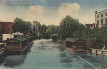 Fuerstenfeldbruck, Amper / Postkarte by AKG  Images