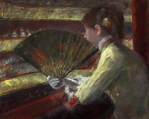 M.Cassatt, In der Loge by AKG  Images