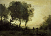 C.Corot, Souvenir d'Italie von AKG  Images