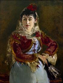 Bizet, Carmen, Emilie Ambre / E. Manet von AKG  Images