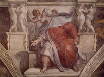 Michelangelo, Hesekiel by AKG  Images