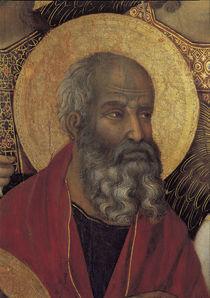 Duccio, Maesta, Evangelist Johannes by AKG  Images