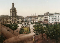 Mannheim, Paradeplatz / Photochrom by AKG  Images