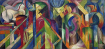 Franz Marc, Stallungen by AKG  Images