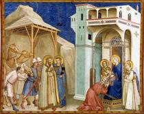 Giotto, Anbetung der Koenige / Assisi von AKG  Images