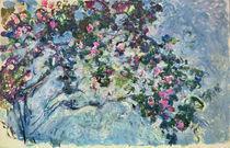 C.Monet, Der Rosenstrauch by AKG  Images