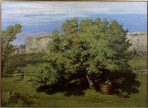 G.Courbet, Weinlese bei Ornans by AKG  Images