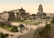 Berlin, Gendarmenmarkt , um 1900 by AKG  Images