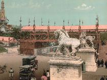 Paris, Weltausstellung 1889 / Photochrom by AKG  Images