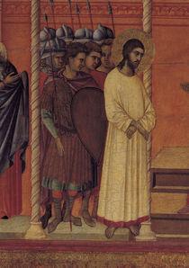 Duccio, Christus vor Pilatus, Ausschn. by AKG  Images