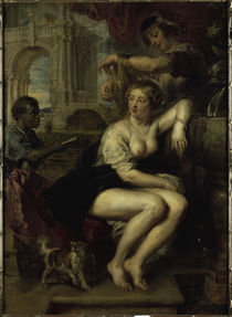 P.P.Rubens, Bathseba am Springbrunnen von AKG  Images