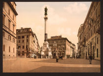 Rom, Piazza di Spagna / Photochrom by AKG  Images