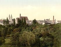 Wien, Wiener Neustadt / Photochrom von AKG  Images