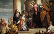 Teniers nach Veronese, Juengling zu Nain von AKG  Images