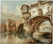 W.Turner, Old Welsh Bridge Shrewsbury by AKG  Images