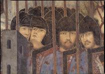 A.Lorenzetti, Soldaten mit Lanzen by AKG  Images