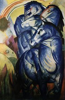 Franz Marc, Turm der blauen Pferde/1913 by AKG  Images