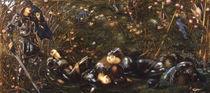 E.Burne Jones, Prinz betritt den Wald von AKG  Images