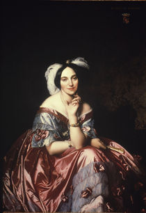 Betty de Rothschild / Gem.v.Ingres von AKG  Images