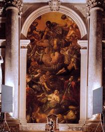 Tintoretto, Vision des Hl.Rochus von AKG  Images
