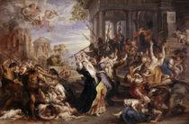 Rubens, Bethlehemitischer Kindermord von AKG  Images