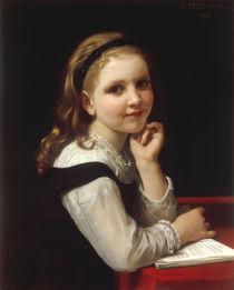 W.A.Bouguereau, Kleines Schulmaedchen von AKG  Images