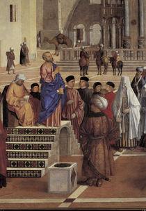 G.Bellini, Predigt des Markus von AKG  Images